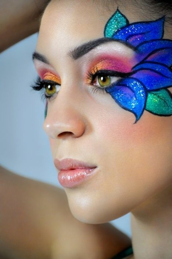 schminktipps karneval elegant geheimnisvoll