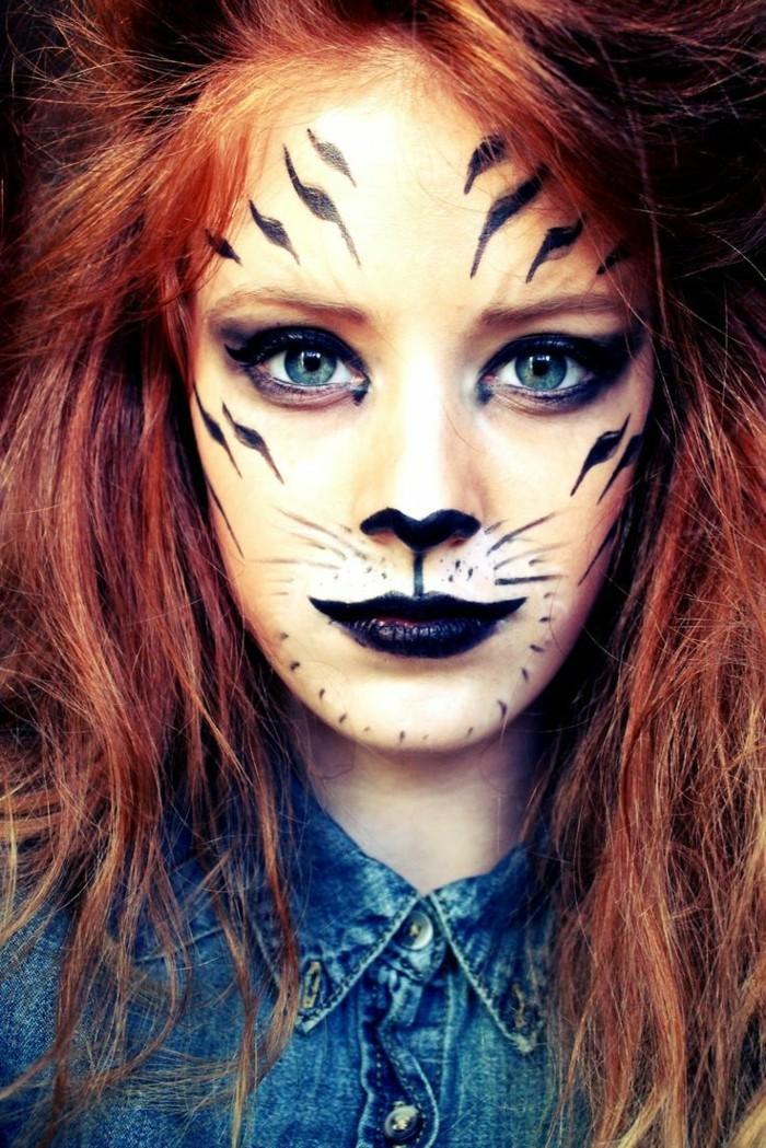 schminktipps karneval frauen gesichtsschminke ideen