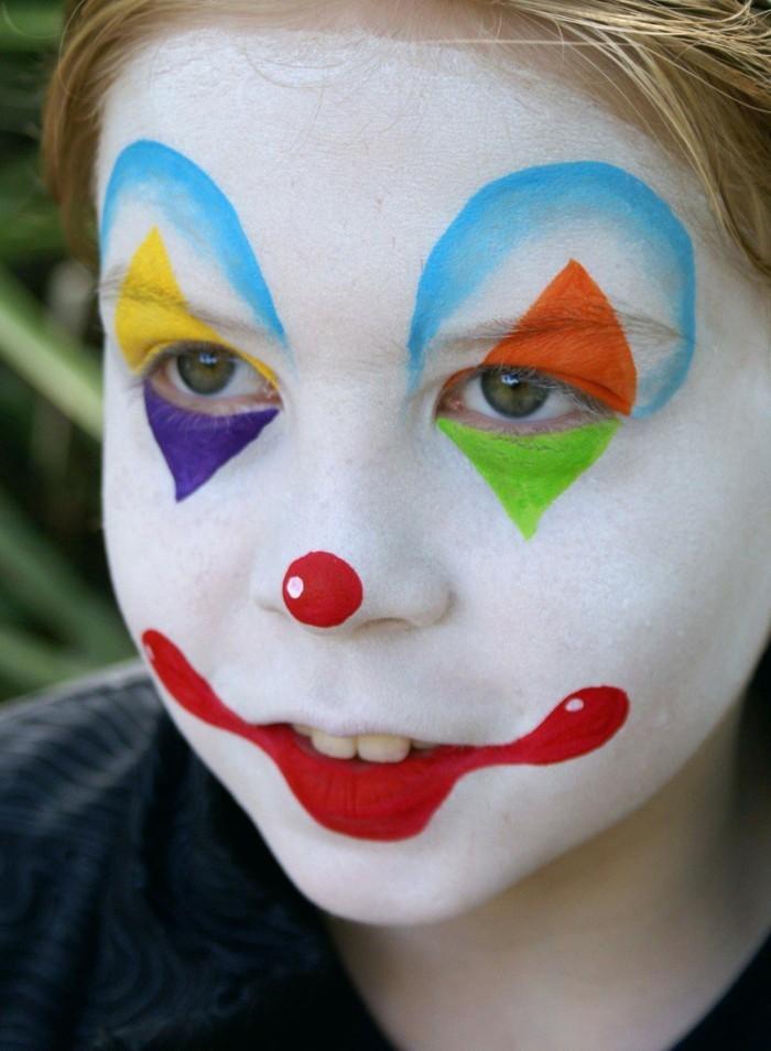 schminktipps karneval jungen gesichtsschminke