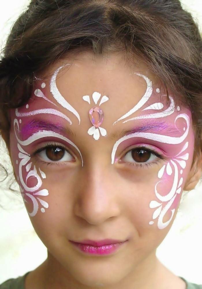 schminktipps karneval kinder passende farben auswählen