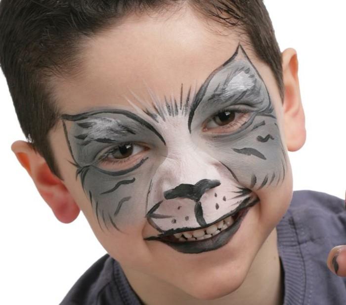 schminktipps karneval lustige ideen jungen
