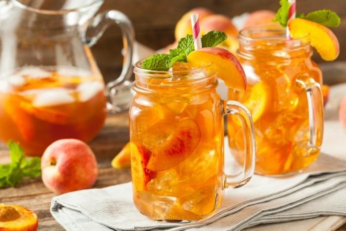 sommer getränke früchte eistee tipps zum abnehmen
