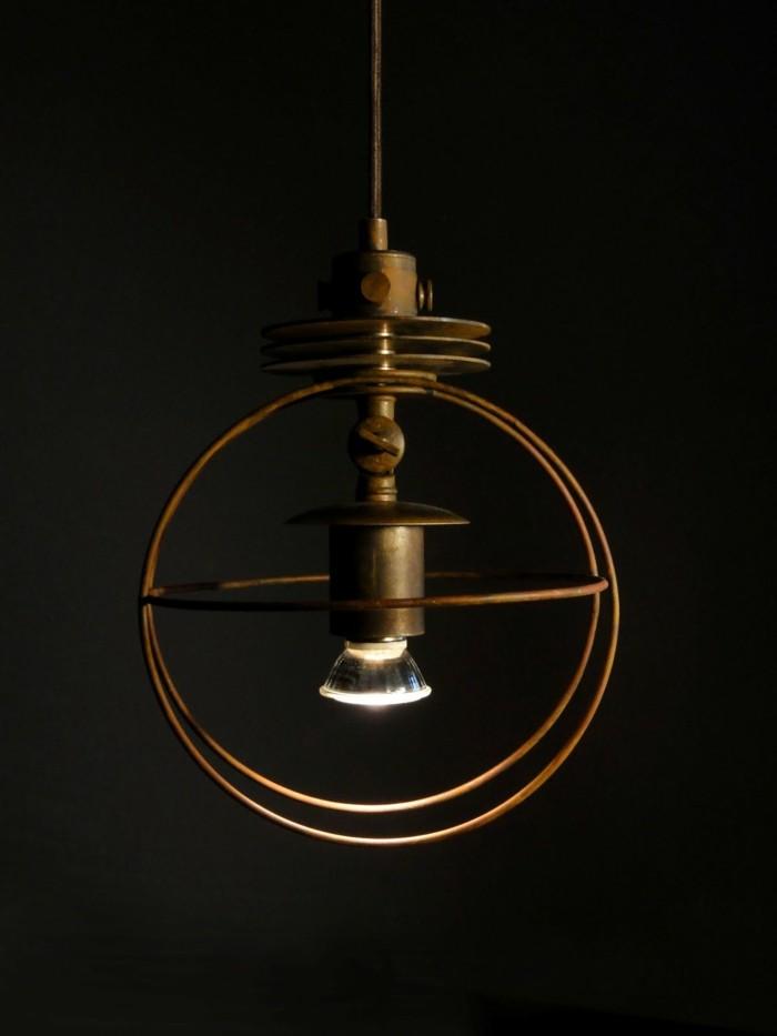 upcycling ideen diy lampen eisen