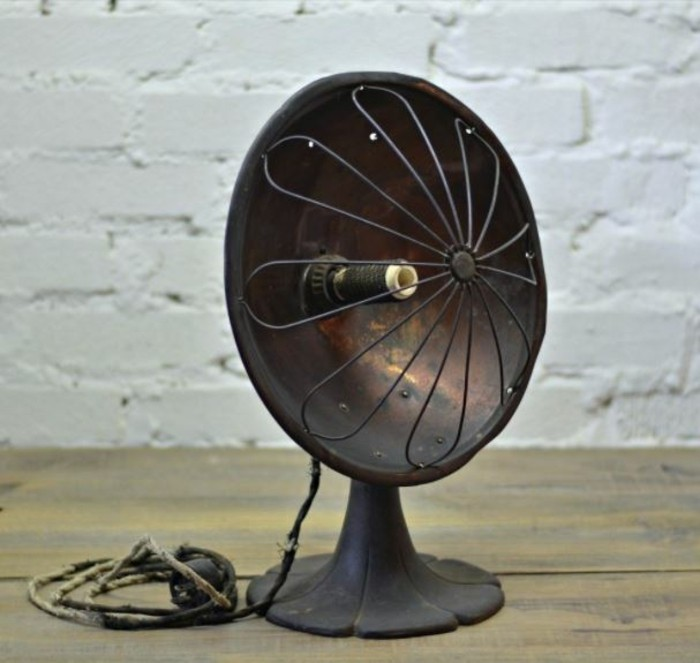 upcycling ideen diy lampen ventilator