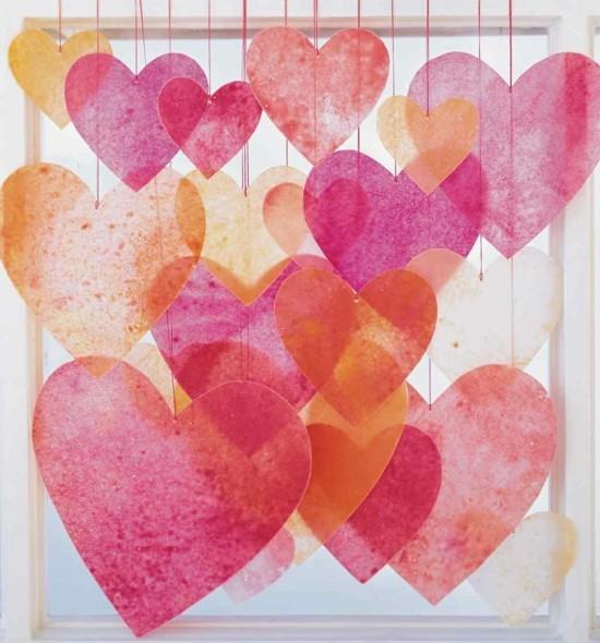 wachs papier valentinstag ideen