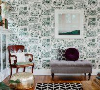 Die Wandtapete – Wie eine Fototapete den Raum völlig verändert…