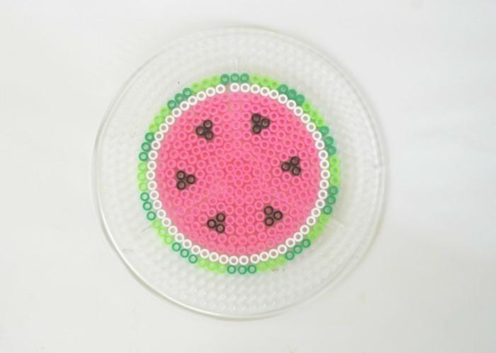 wassermelone basteln mit bügeleisen vorlage