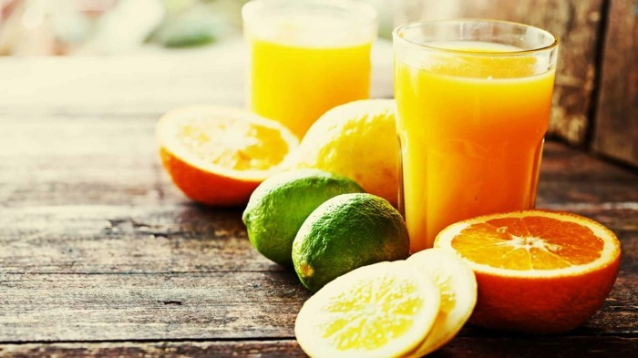 zitrusfrüchte darmreinigung detox kur körper entschlackung