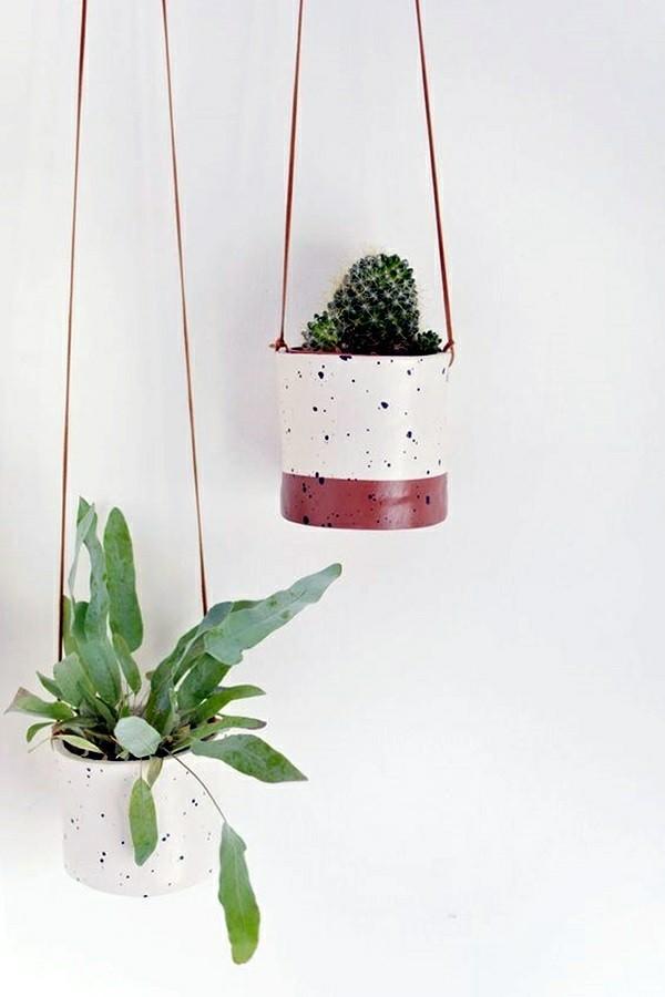 übertöpfe zimmerpflanze kaktus blumenampel selber machen