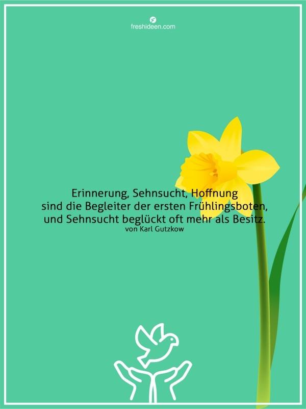 Erinnerung Glück Frühling Zitate Gefühle
