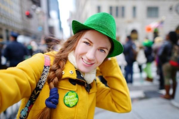 Feiertag der Iren wenigstens ein grünes Kleidungsstück anhaben