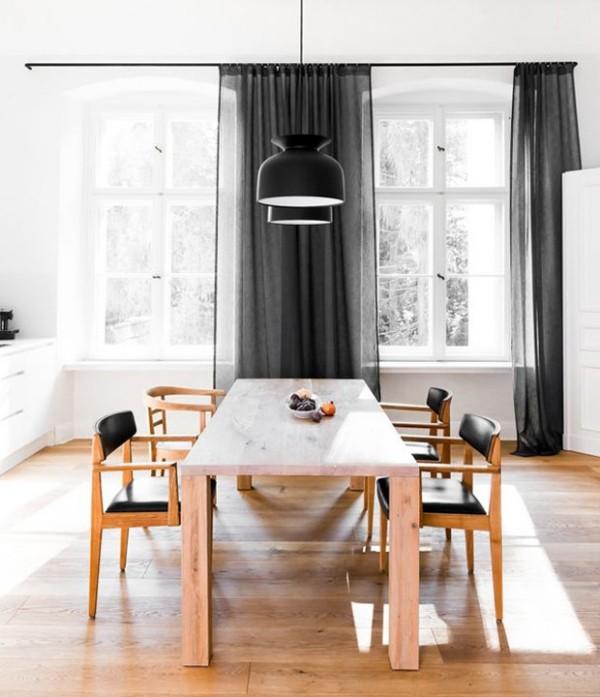 Holz Marmor echte Klassiker im Interieur