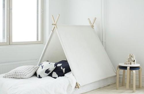 Kinderzimmer weiß skandinavisches Design