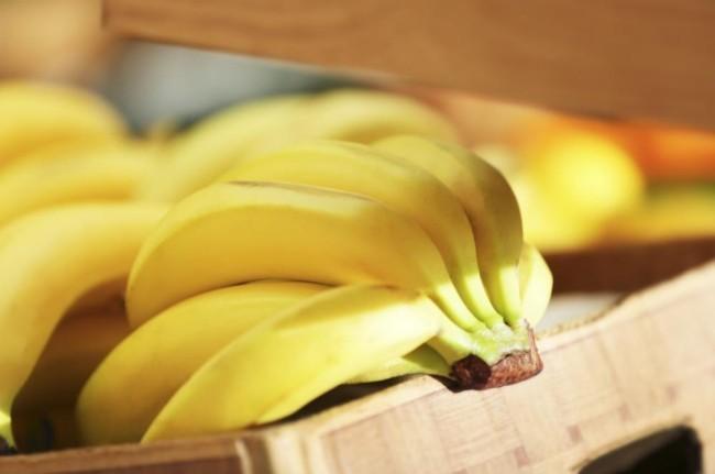 Korb mit Bananen