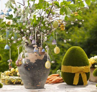 Osterdeko F R Drau En osterdeko für draußen wie sie ihren outdoor bereich österlich dekorieren fresh ideen für das