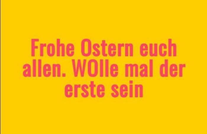 Ostern Sprueche OSterfest OSterdeko Osterhase basteln gelb