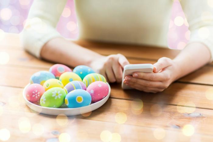 Ostern Sprueche OSterfest OSterdeko Osterhase frage sms