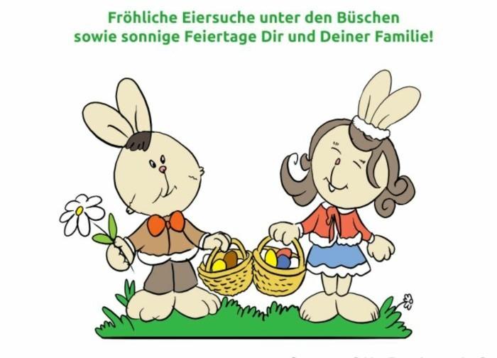 Ostern Sprueche OSterfest OSterdeko Osterhase glueckwunsch
