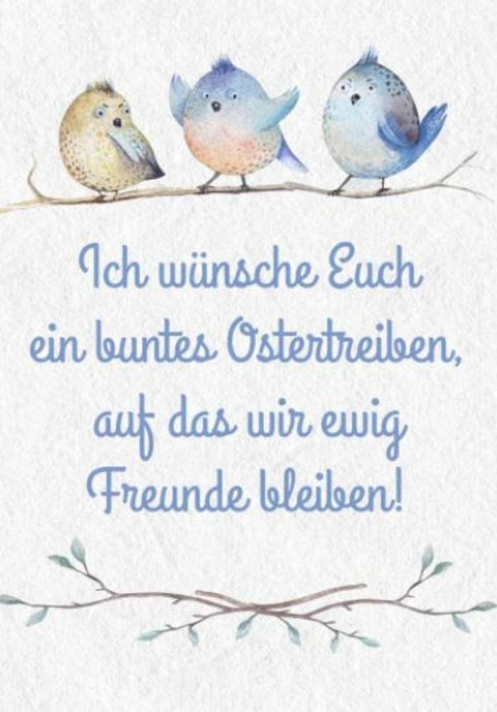 Ostern Sprueche OSterfest OSterdeko Osterhase gruesse
