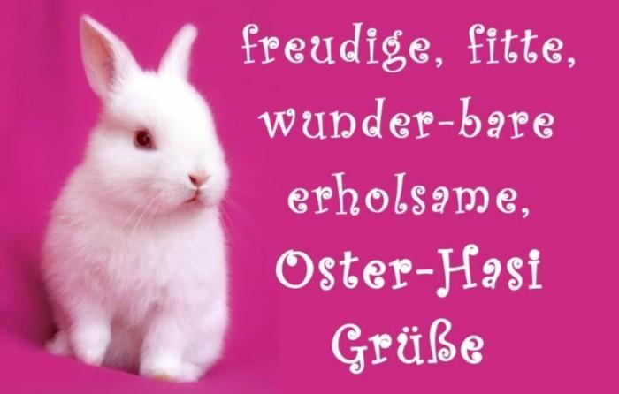 Ostern Sprueche OSterfest OSterdeko Osterhase suess