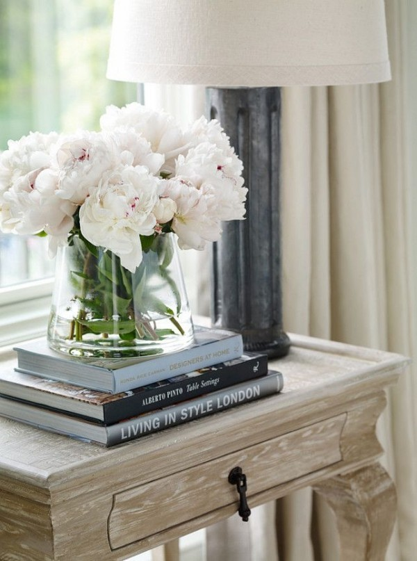 Schöne Blumen Blickfang im Zimmer
