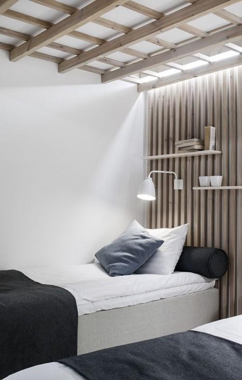 Skandinavisches Design Schlafzimmer