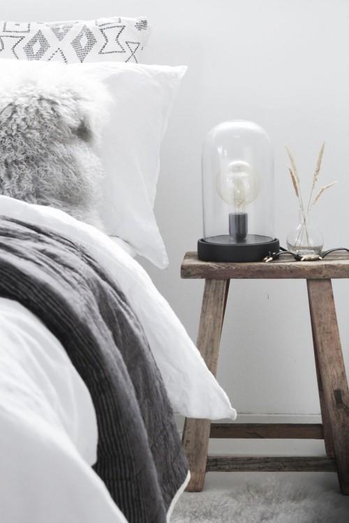 Skandinavisches Design gemütliches Schlafzimmer