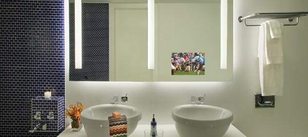 Fernseher Fürs Badezimmer | Spiegel Fernseher tolle Inneneinrichtung