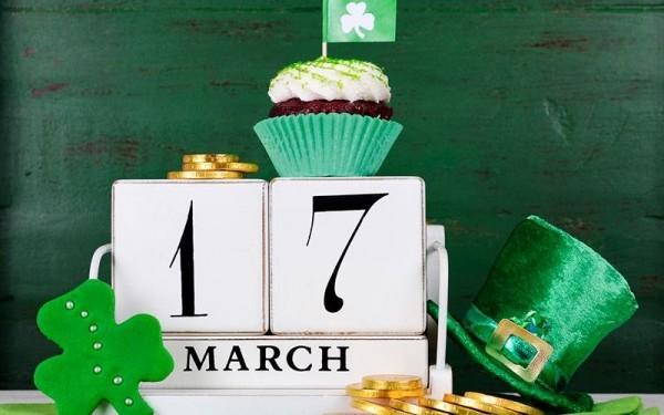 St. Patricks Day 17. März offizieller Feiertag