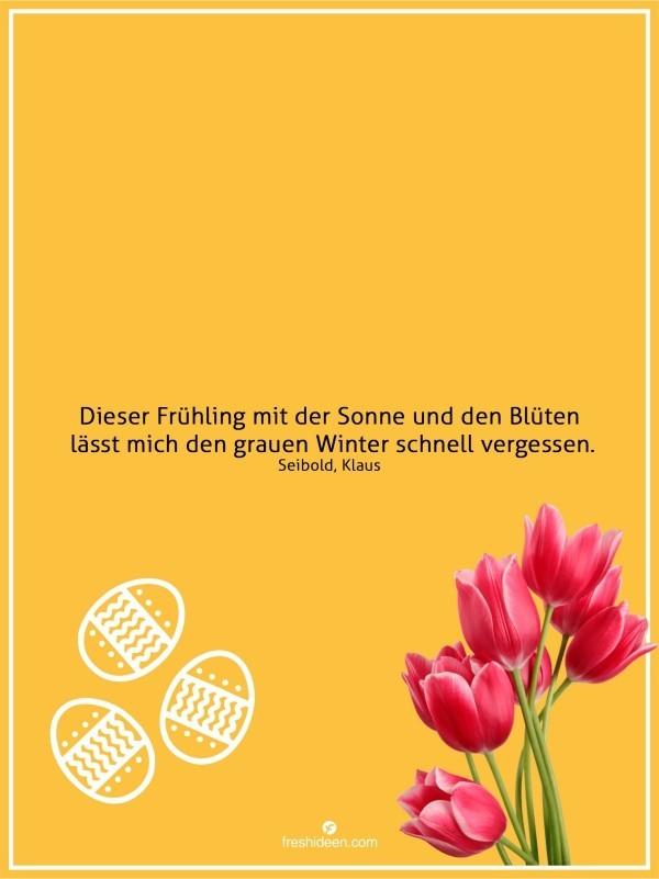 Zitate Frühling