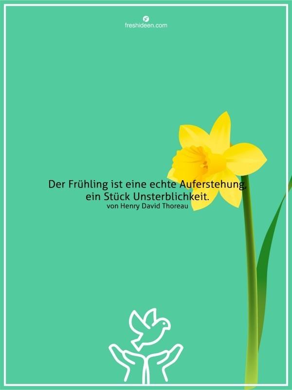 Zitate Frühling Auferstehung Unsterblichkeit