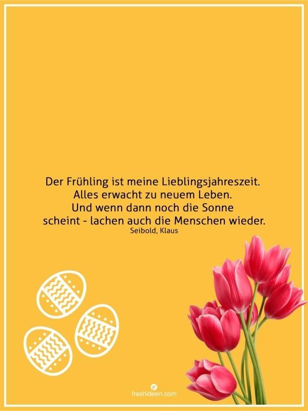 Zitate Frühling Sonne scheint Menschen lachen