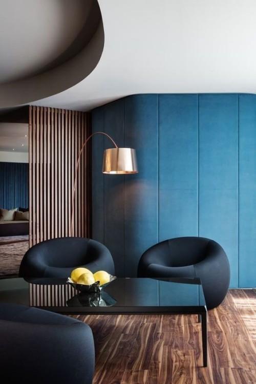 Fesselnd Ansprechendes Blau Wandfarben Ideen