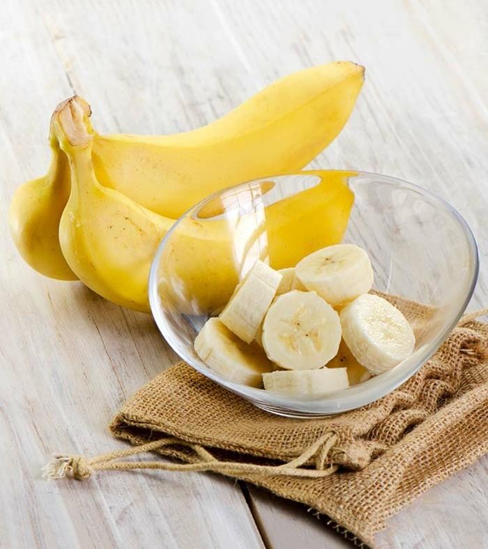 bananen natürliche wachmacher gesund magnesium