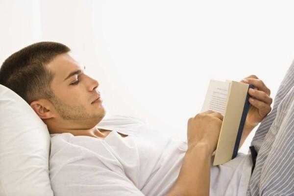 buch lesen tipps zum einschlafen