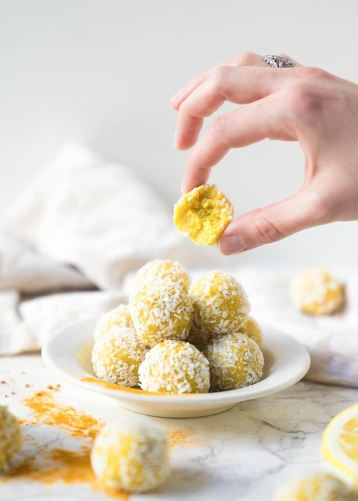 cashew zitrone energy balls rezept low carb