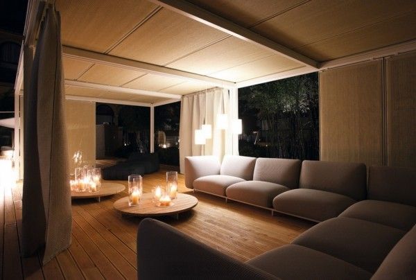deko ideen beleuchtung bei nacht