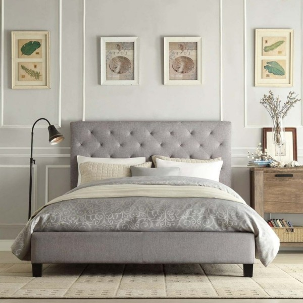 deko ideen gemütliche schlafzimmereinrichtung
