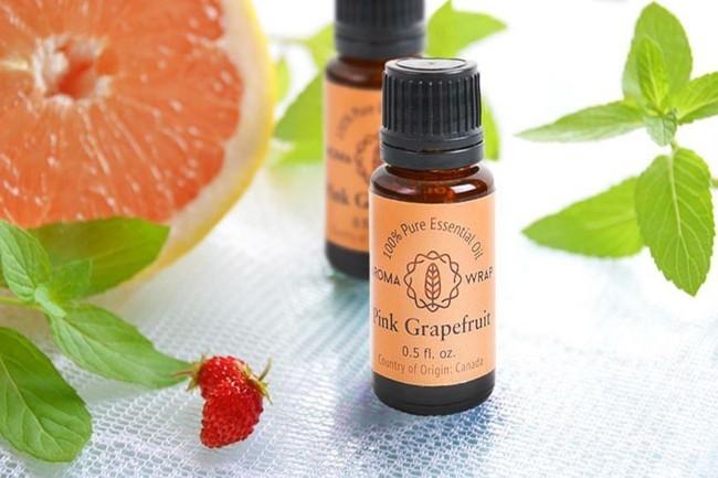 duftöl grapefruit gesund abnehmen mit aromen