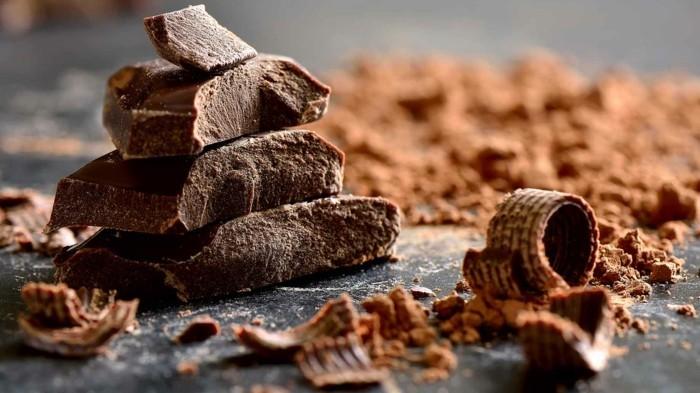 dunkle schokolade gesunder wachmacher idee