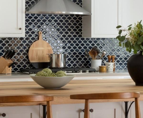 einrichtungsideen tolle küchenrückwand