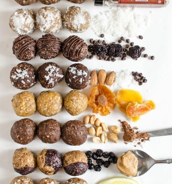 energy balls rezept ideen ohne zucker gesund leben