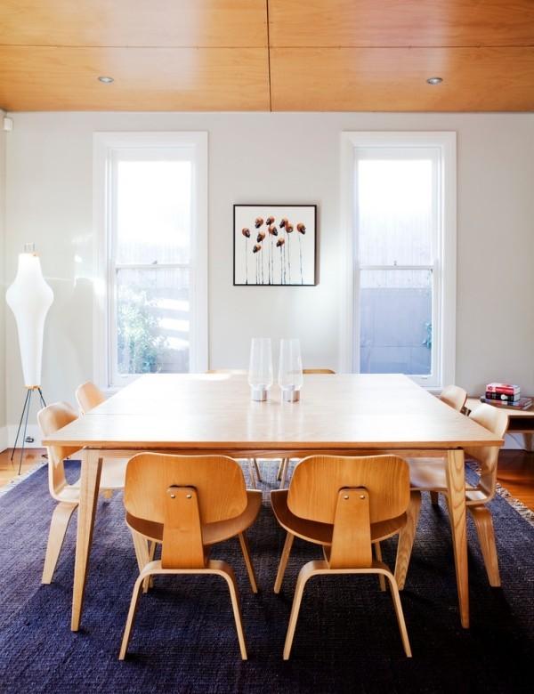 esszimmermöbel moderne holzmöbel schlichte esszimmereinrichtung