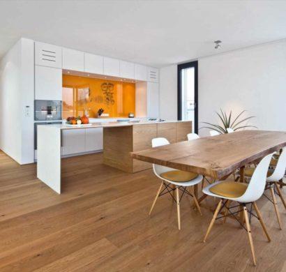 Esszimmermöbel aus Holz bringen ein natürliches Flair ins ...