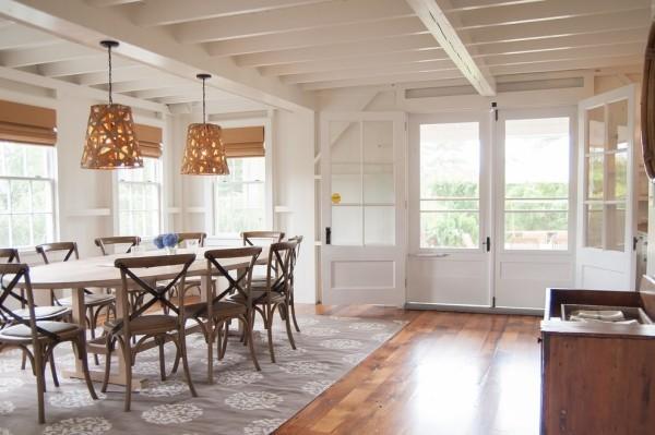 esszimmermöbel ovaler esstisch schöne esszimmerstühle hängelampen