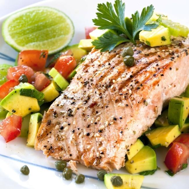 fisch gemüse gewürze gesundes abnehmen