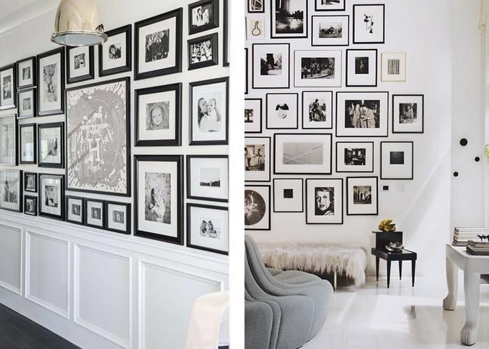 fotowand selber machen selber machen und kreative. Black Bedroom Furniture Sets. Home Design Ideas