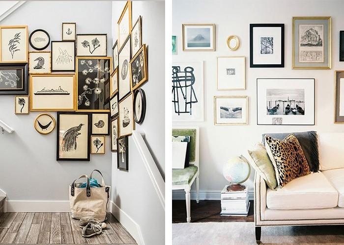 fotowand selber machen akzentwand mit eigenem charakter gestalten. Black Bedroom Furniture Sets. Home Design Ideas