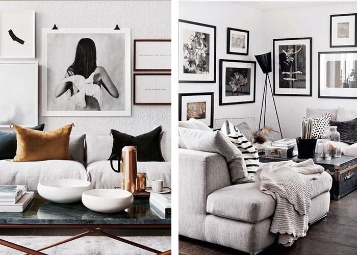 fotowand selber machen cool fotowand selber machen wunderschne ideen und with fotowand selber. Black Bedroom Furniture Sets. Home Design Ideas