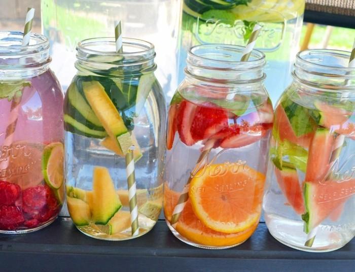 früchte detox wasser heilfasten